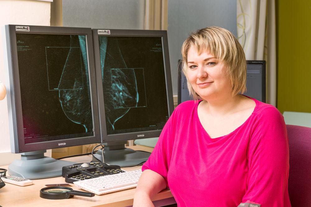 preventivní vyšetření prsu